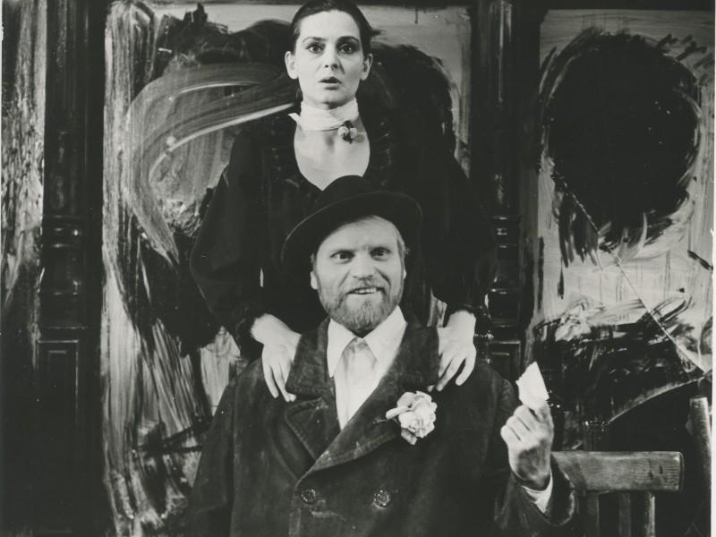 I.Kriauzaitė – Ija Marija sp.PIROSMANI, PIROSMANI rež. E.Nekrošius, 1981